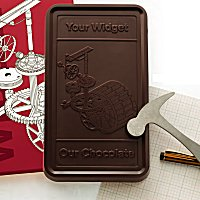 Delicious Fresh Poured when  order is placed chocolates - Customize with your logo