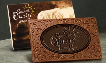 Custom Chocolate Bars in Both Milk Chocolate and Dark Chocolate - A Perfect Combination