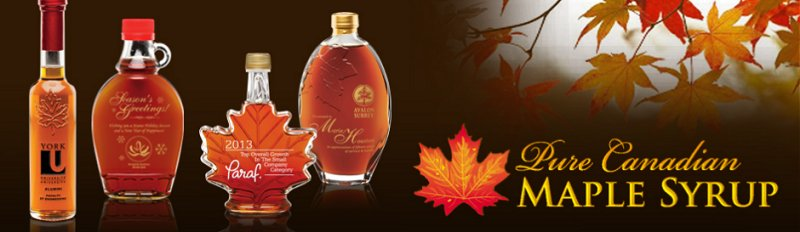 Our real maple syrup bottles are the perfect gift for the holidays. Deep etched and hand painted works of art.