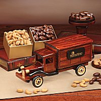 Vehicle themed food gifts - collector idea