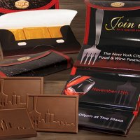 Chocolate Bars with Custom Logo Wrapper